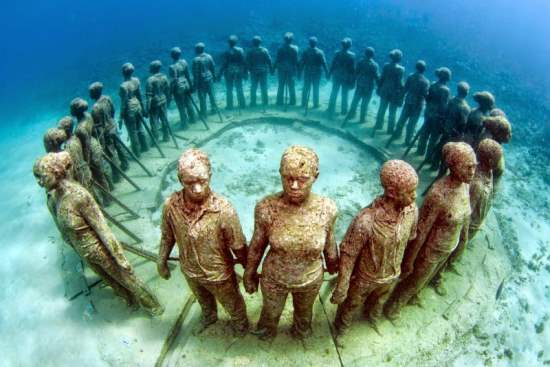 The Amazing Underwater Sculpture Park in Grenada