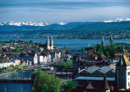 Top 5 Cities in Switzerland